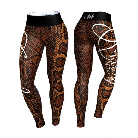 Anarchy Apparel Boa Black/Brown Leggings (XS-L)