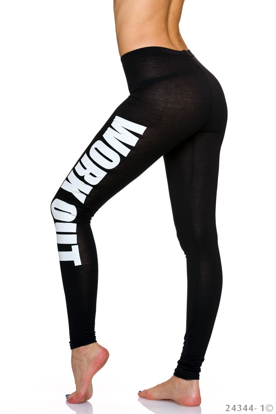 Work Out leggings -  Fekete (S/M)