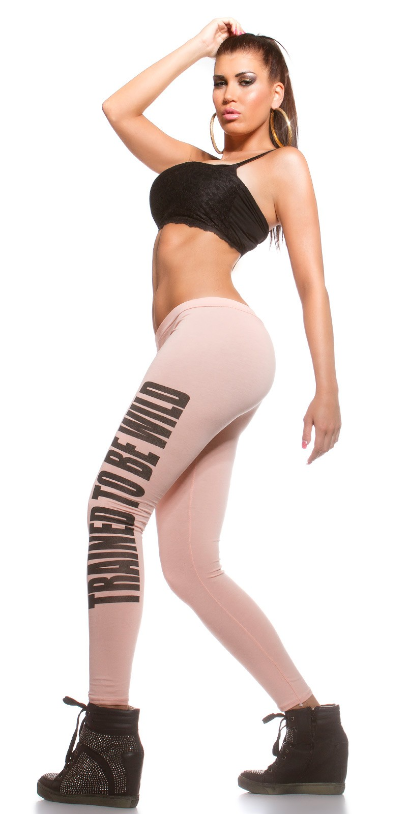 """Trained to be wild"" leggings - Barack (S/M)"